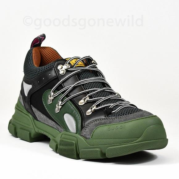 4415c734f Gucci Shoes | New Mens Flashtrek Sneakers Size 9 Us 10 | Poshmark